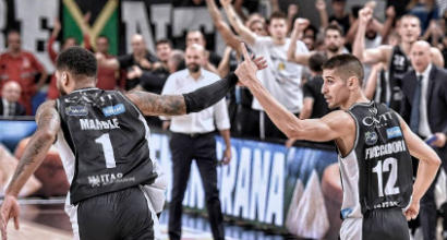 Basket, Serie A playoff: Trento e Trieste non mollano, Venezia e Cremona k.o.