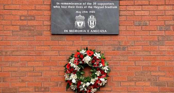 Juventus e Liverpool ricordano l'Heysel 34 anni dopo