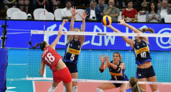 Volley, Nations League: l'Italia rimonta la Russia e vola alle Final Six