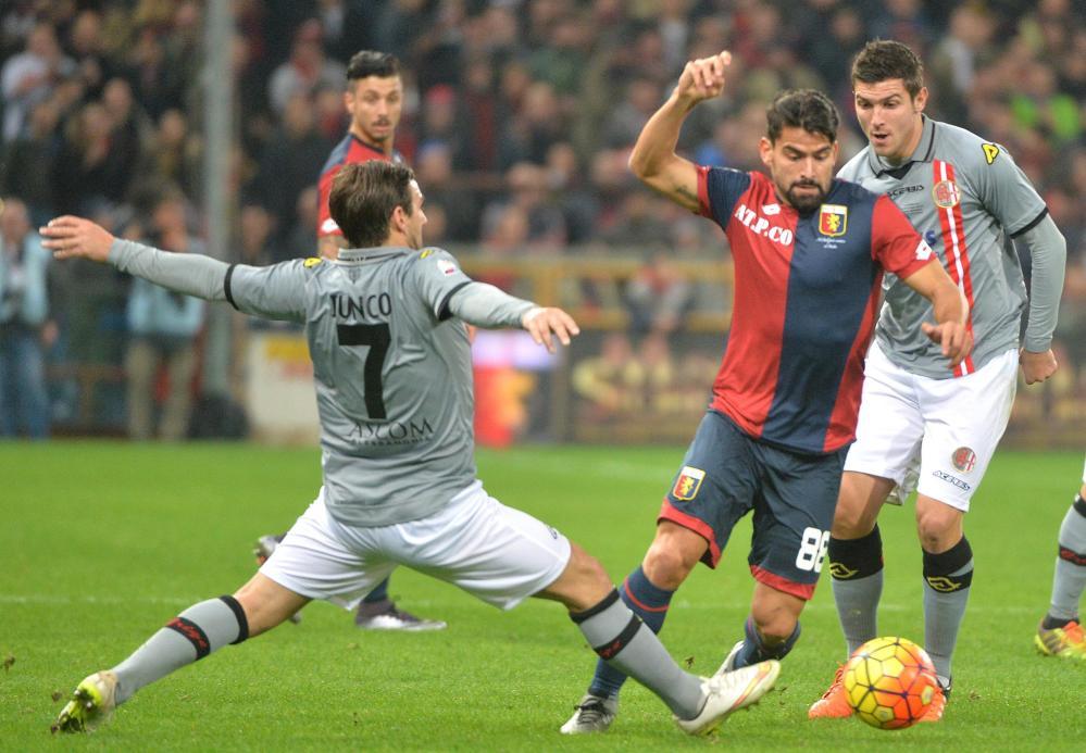 Coppa Italia, Alessandria nella storia: Genoa ko