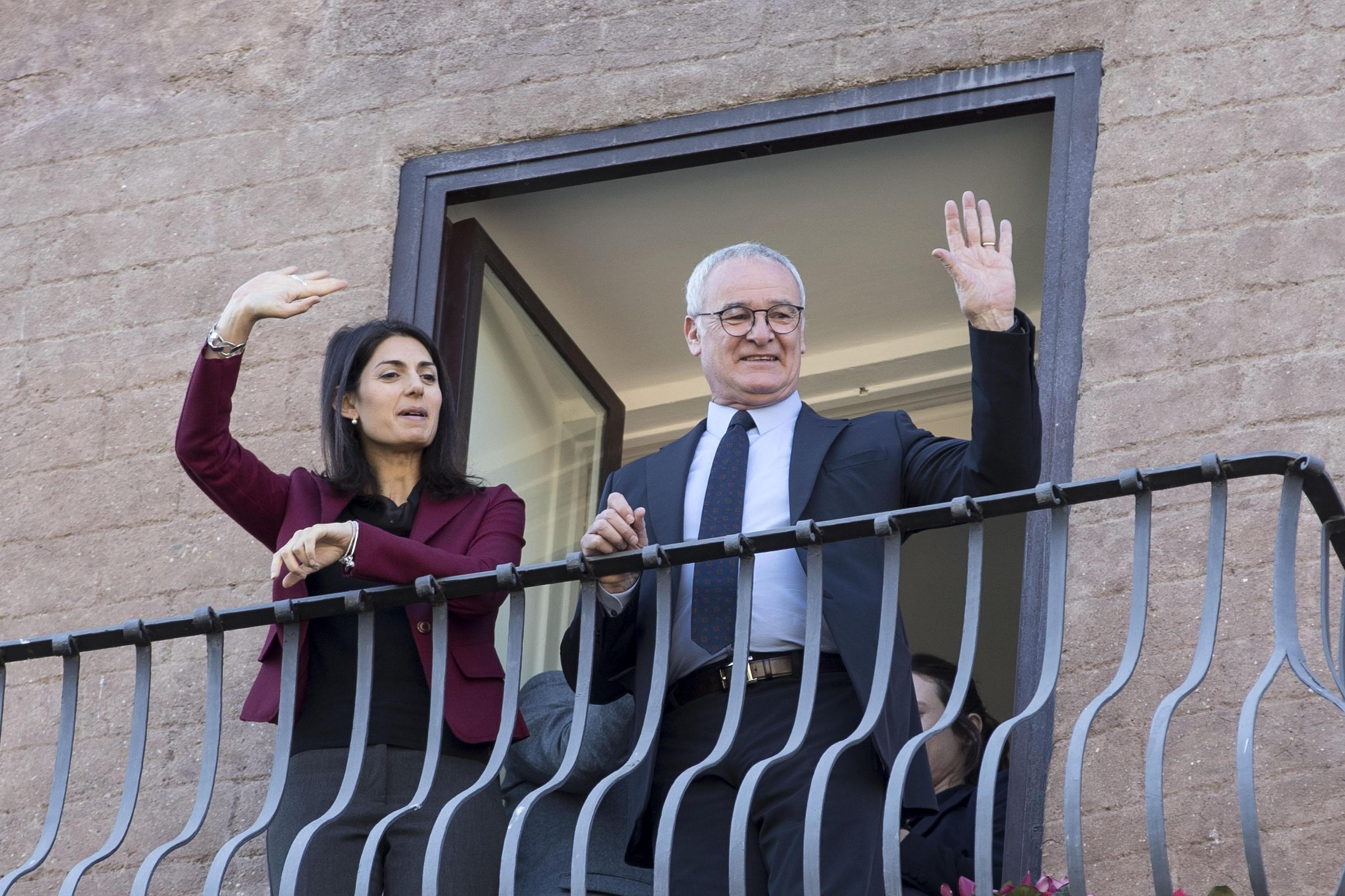 Claudio Ranieri premiato in Campidoglio