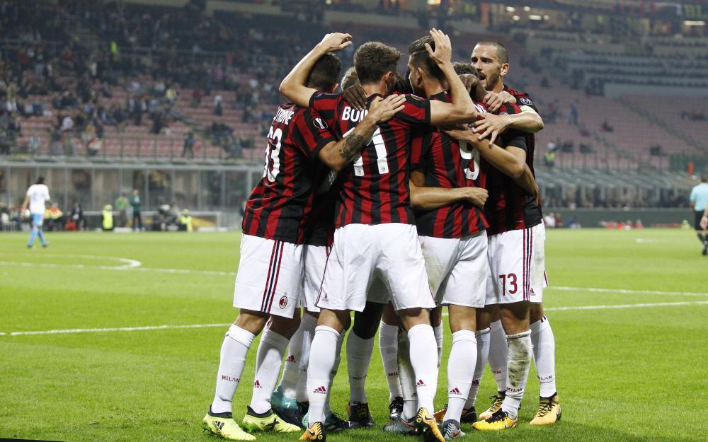 Europa League, Milan-Rijeka 3-2: le foto del match