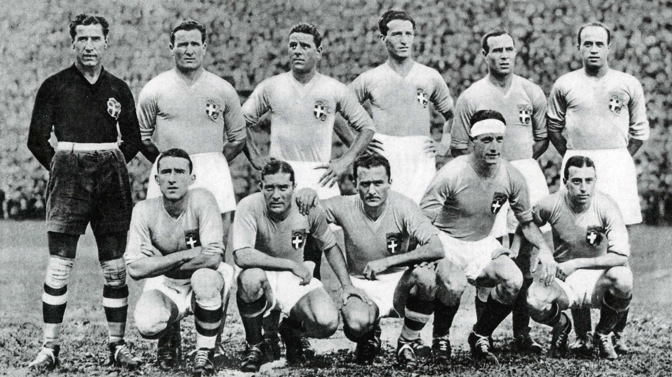 Mondiali, i trionfi dell'Italia nel '34 e nel '38
