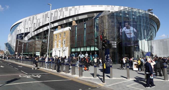Tottenham, inaugurato il nuovo stadio a 9 piani
