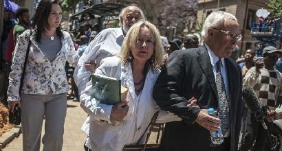 June e Barry Steenkamp, foto Afp