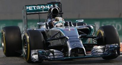 Formula 1, Hamilton rinunci al n. 1