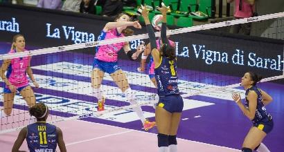 Volley femminile, Serie A1: stop Casalmaggiore, Novara ritrova la vetta