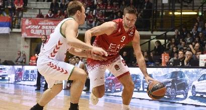 Eurolega: Milano non sbaglia, Baskonia sbranata