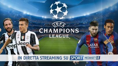 Champions League, Juventus-Barcellona: tutti i match in chiaro