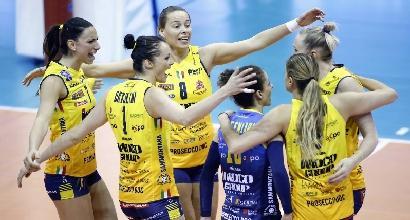 Volley, Playoff A1 femminile: rimonta Modena, Conegliano battuta