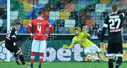 Troppa Udinese, Perugia travolto: Maxi Lopez e... mini difesa