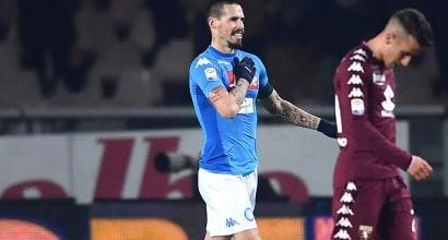 """Napoli, anche l'Uefa celebra Hamsik: """"Come Maradona"""""""