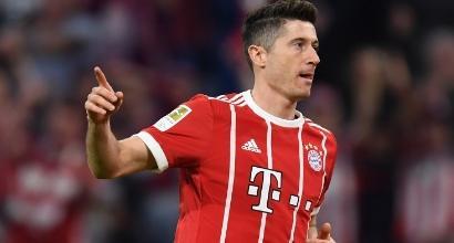 Bundesliga: Bayern insaziabile, travolto il Gladbach