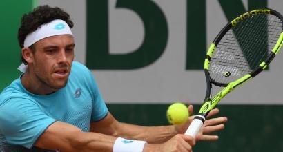 Roland Garros, tris azzurro: Cecchinato, Berrettini e Giorgi al terzo turno
