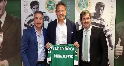 Miha riparte dallo Sporting Lisbona