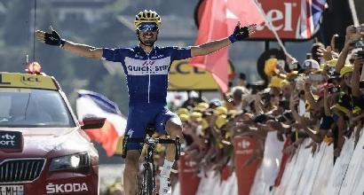 Tour de France, meraviglioso assolo di Alaphilippe sulle Alpi