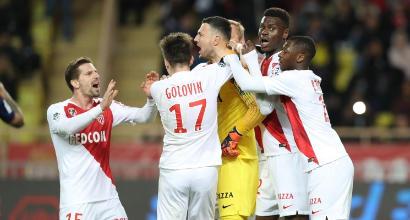 Ligue 1: il Monaco continua a correre e abbatte il Lione, solo un punto per il Marsiglia