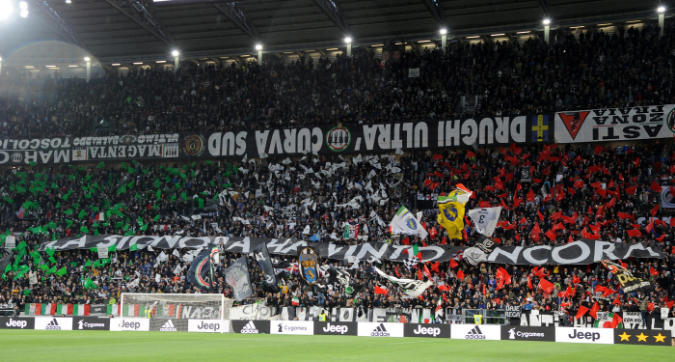 Serie A: il campionato piace sempre di più, Juve in crescita tra i tifosi