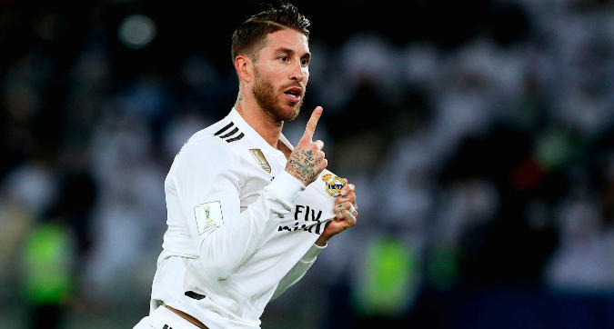 """Sergio Ramos: """"Voglio chiudere al Real, qui giocherei anche gratis"""""""