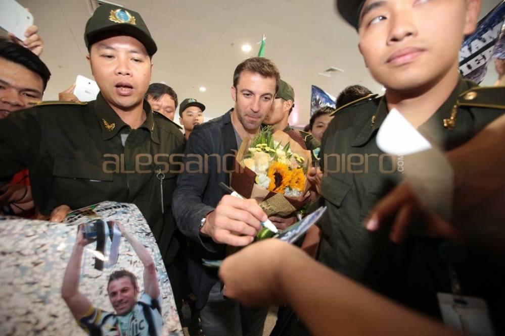 Del Piero, che accoglienza in Vietnam