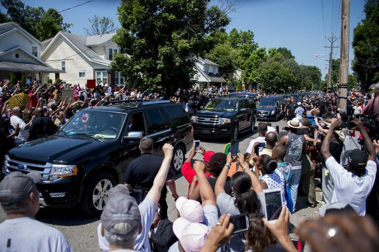 Muhammad Ali, funerali a Louisville: le foto