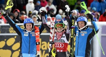 Sci, slalom Aare: trionfo Shiffrin, sua la Coppa di specialità