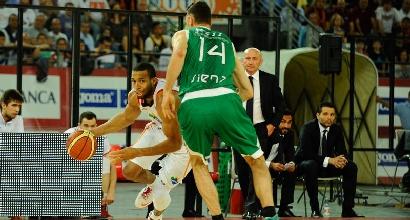 Basket, playoff Serie A: Roma ancora ko, Siena vede la finale