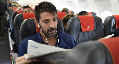 Juventus, furia Buffon in tv: