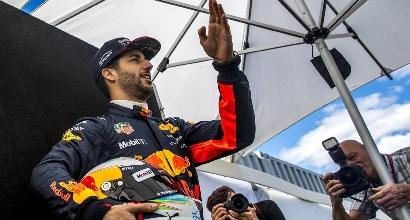 Ricciardo, foto Ansa