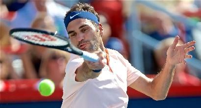 Tennis,forfait Federer a Cincinnati