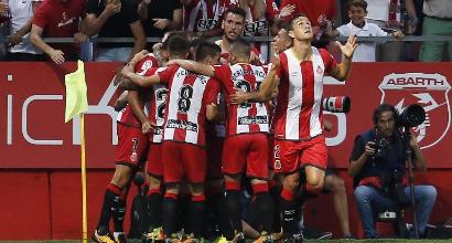Liga: Gimenez salva l'Atletico, 2-2 contro il Girona