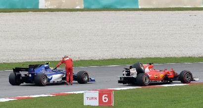 Ferrari, il cambio di Vettel è salvo