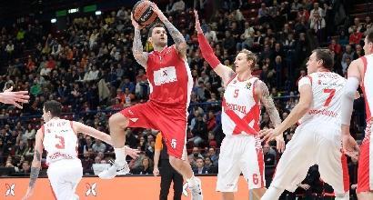 Eurolega, Milano soffre ma vince: Baskonia battuto