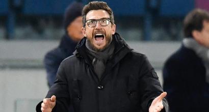 """Roma, Di Francesco: """"Sconfitta preoccupante"""""""