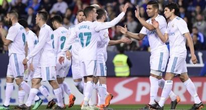 Liga: Atletico Madrid sul velluto, vince anche il Real