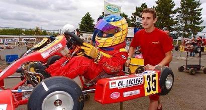 Leclerc un predestinato in Ferrari