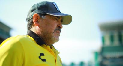 Messico, l'artrosi ferma Maradona: Islas dirige l'allenamento