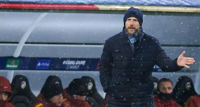 """Roma, la delusione di Di Francesco: """"Non ho avuto le risposte che volevo"""""""