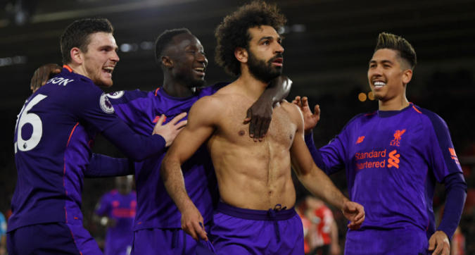 Premier League: Salah ritrova il gol, il Liverpool vince e torna primo
