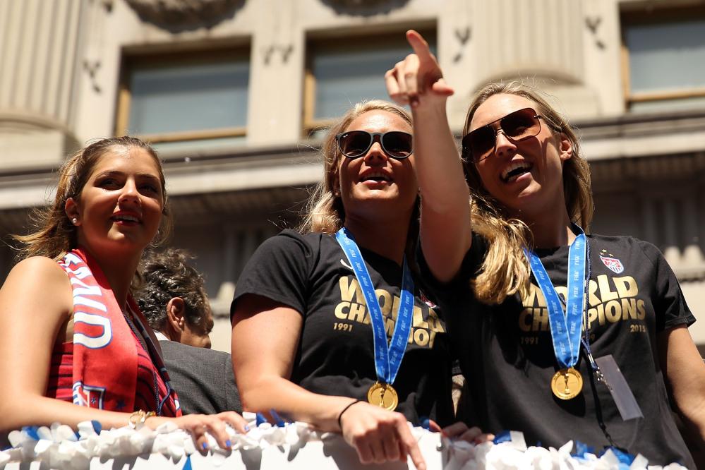 Usa, che festa per le campionesse del mondo