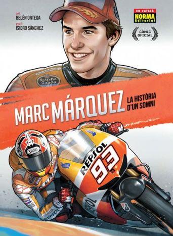 MotoGP: Marc Marquez diventa un fumetto