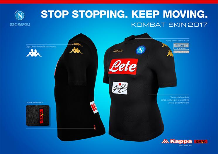 Napoli, la terza maglia è... inafferrabile | Foto - Sportmediaset
