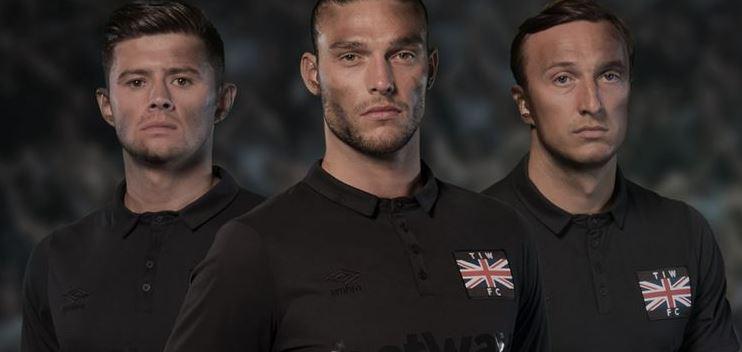 West Ham in versione All Blacks, omaggio al passato