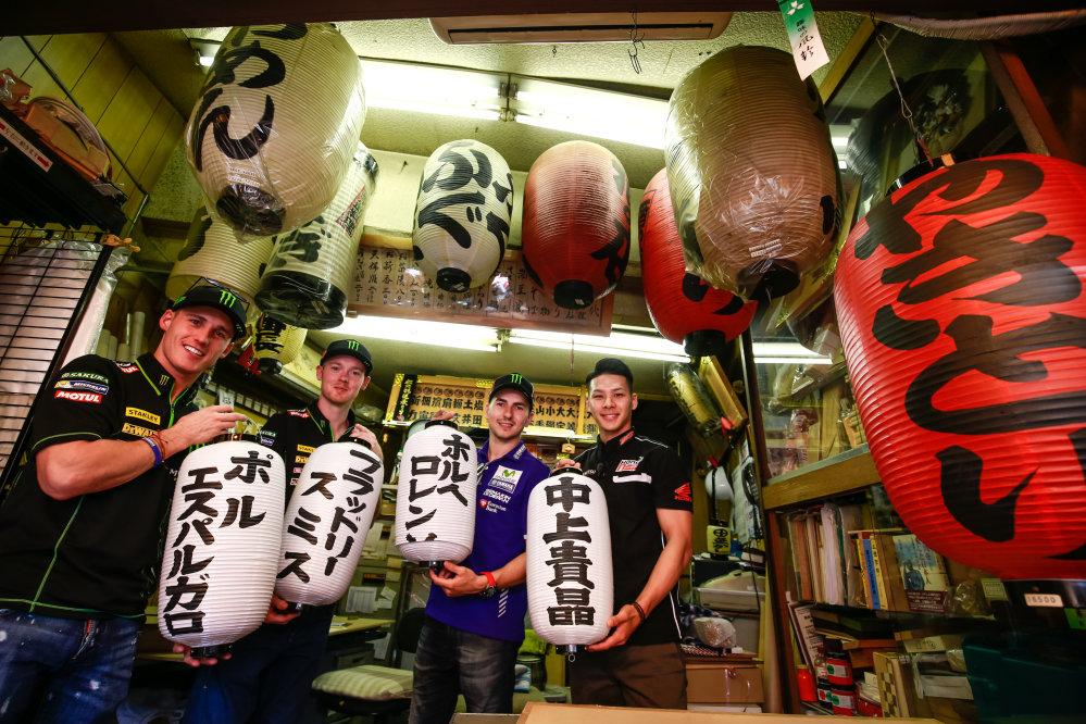 MotoGP, piloti in tour a Tokyo