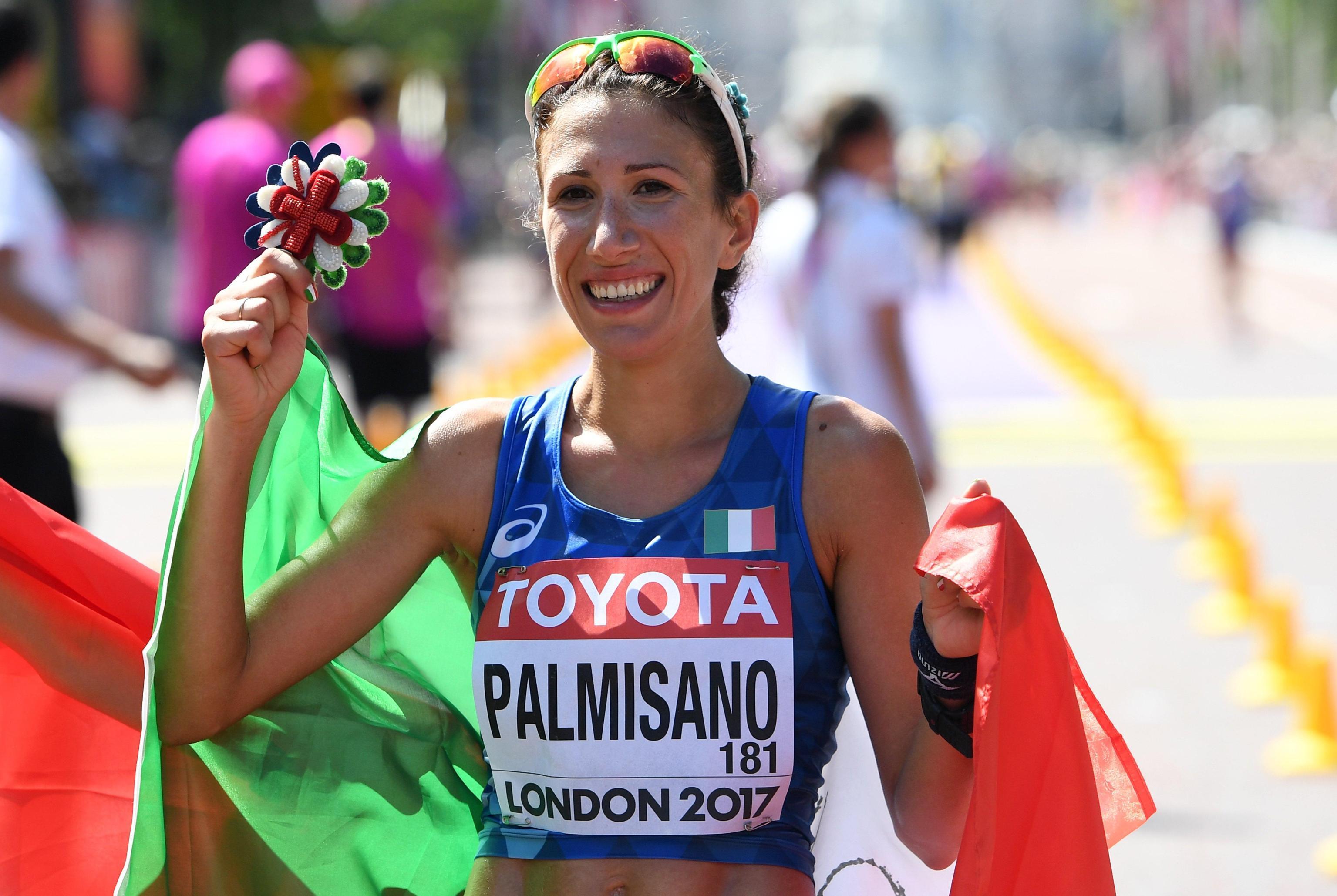 Ai Mondiali di atletica di Londra Antonella Palmisano vince la medaglia di bronzo nella 20 km di marcia. L'azzurra ha chiuso dietro la cinese Yang e la messicana Gonzalez.&#160;<br /><br />