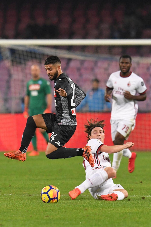 Serie A, Napoli-Milan 2-1: le foto