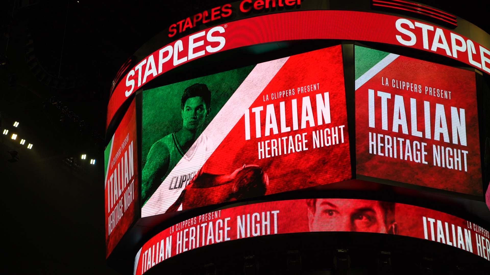 L'Nba celebra l'Italia: Del Piero-Gallinari show
