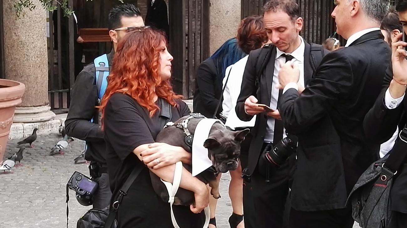 Roma, De Rossi e C. alle nozze di Lorenzo Pellegrini
