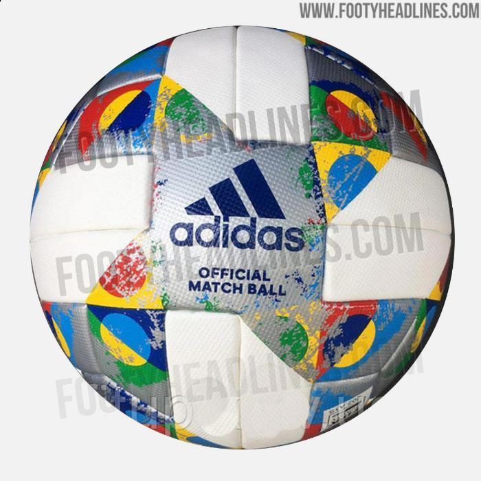 Ecco le immagini del pallone, firmato Adidas, che sarà protagonista nella prossima Nations League. Il sito footyheadlines.com ha svelato le prime foto della nuova sfera di gioco della competizione che prenderà il via a settembre.<br /><br />