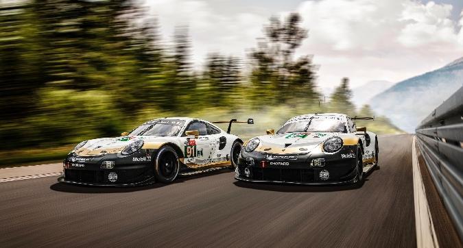 La Porsche si rifà il trucco per Le Mans